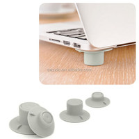 Suction Laptop Cooling Feet Stand Set