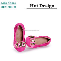 2015 autumn new casual shoes,ballet flats shoes, girl's leather shoes