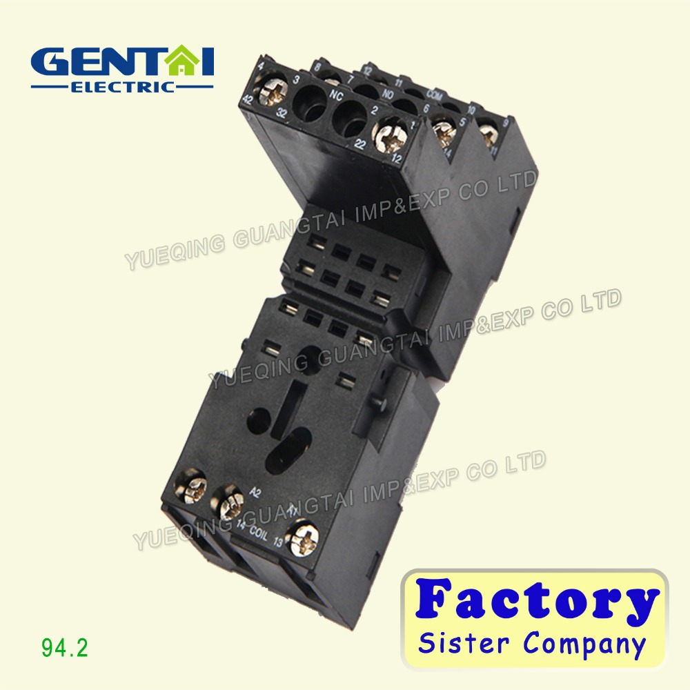 94.2 relay socket mechanical switch electrical outlet