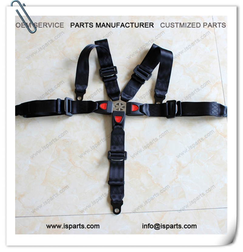 16.1 Latch & Link 5 Point Racing Seat Belt Black