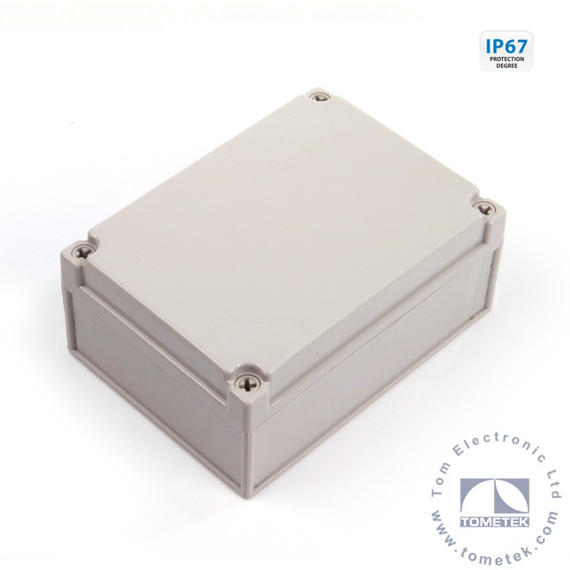 Outdoor electrical junction box plastic networking enclosure