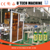 Sleeve shrink tunnel steam shrink labeling applicator machine