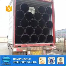 48 inch saw lsaw pipe building material/hollow tube/metal/erw q345 q235b erw black round steel welded pipe dn200 s355j2h
