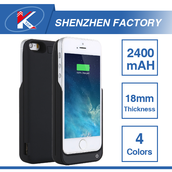 2100mAh Lithium Polymer Battery Case for iPhone 5 5S SE Big Capacity 4000mAh UPS Emergency External Battery Case Ultra Thin