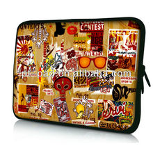 sublimation printing neoprene case for laptop,notebook