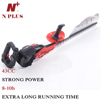high quality 43cc gas trimmers power light duty electric hedge branch cutters