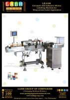 Automatic Self Adhesive Sticker Labelling Machine for Wrap around Label Application