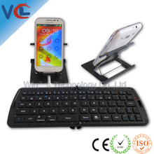 BSCI and ISO 9001 factory Mini Folding Bluetooth Keyboard For Tablet Pc