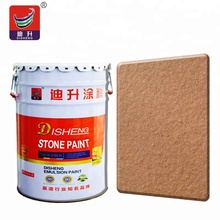 Granite Natural Stone Coating for wall paint in various color
