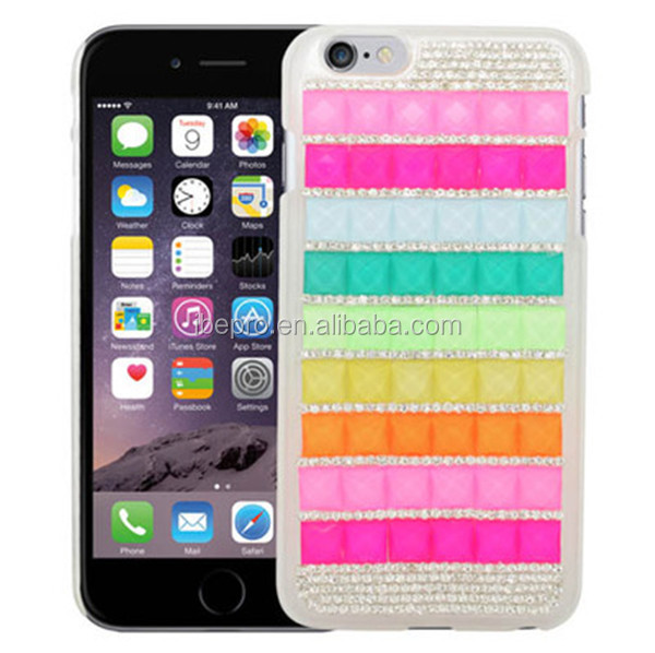 Factory Price Rainbow Hard Case for iPhone 6