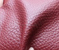 Skillful manufacture lichee grain pvc artificial leather for sofa soccer balls car seat covers etc