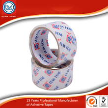 Alibaba Hot Sale Acrylic Adhesive Bopp Water Proof Branded Packing Tape