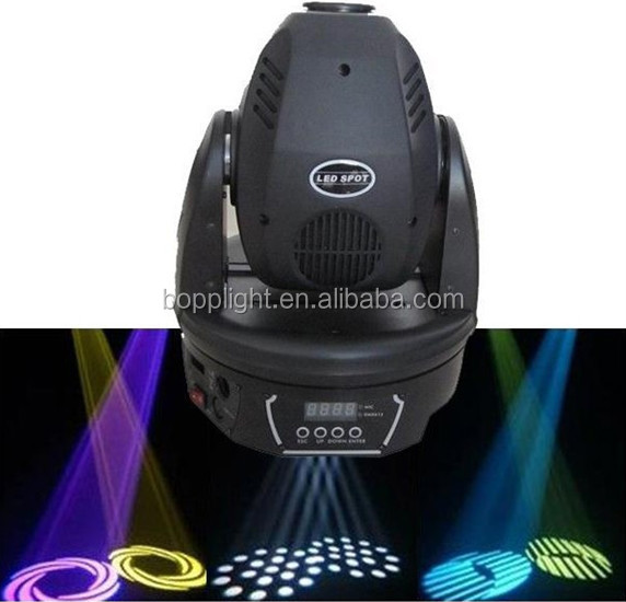 30W beam moving head spot / stage light with flight case 2015 hot