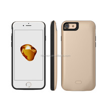 for APPLE 7 2600mah power case for iphone 7 2600mah multi color battery phone cover charger for apple 6