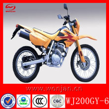 New 200cc gas-powered mini dirt bike for sale(WJ200GY-6)