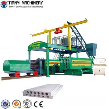 High Capacity Gypsum Wall Panel/Board Making Machine Line / Gypsum Wall Board Making Machine For Sale