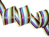 color stripes ribbon, grosgrain, wrapping