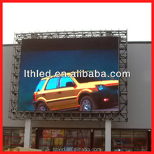 high brightness and well radiating waterproof outdoor p10 led display