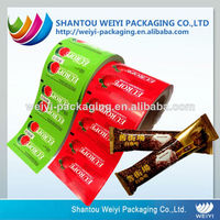 Food grade safety printed sealer film roll for food packaging