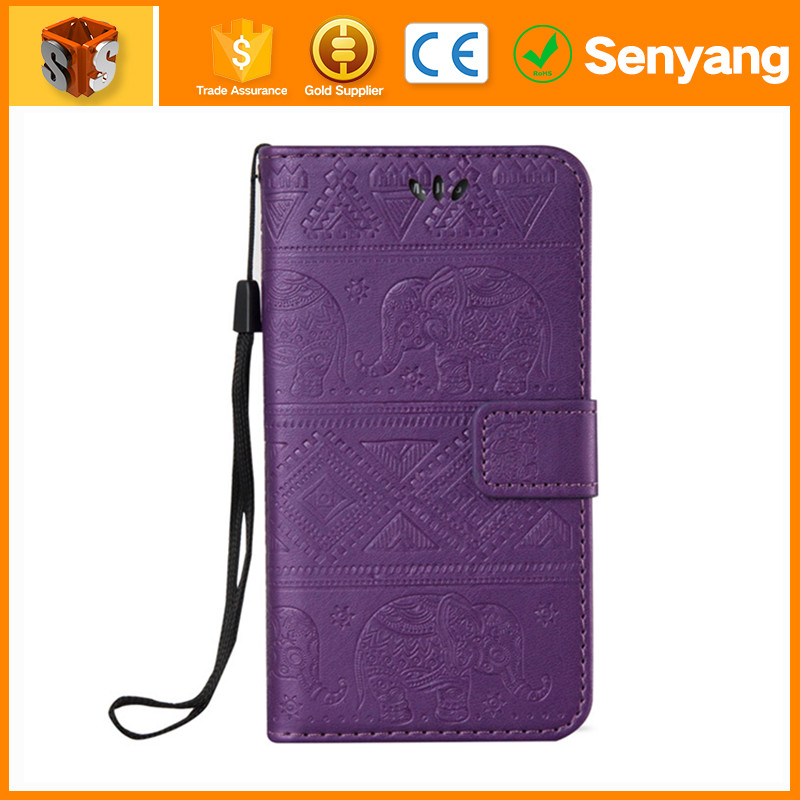 alibba Latest product pu leather flip cover case for samsung galaxy note 2