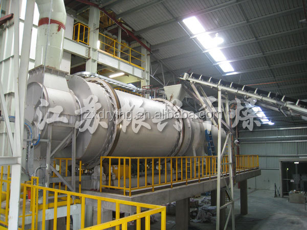 High Quality HZG Series Three Rotary Drum Dryer for Dregs of Decoction