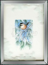 Green leaves of birds mirror decoration painting