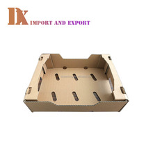Custom safe packaging corrugated fruit carton box for Mango packaging