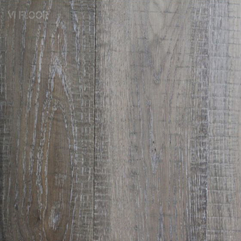 3 Layer 1 Strip Rustic Carbonized Oak Flooring With Saw Mark