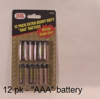 Batteries AA, AAA, C, D, 9V Mix or Match