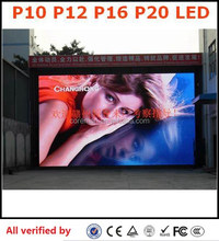 Coreman Hot sale& super cheap BLUE RGB video P10 outdoor led video display(P10 16) advertising screen