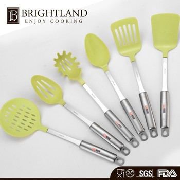 Cheap Price Professional 6 Piece cooking nylon kitchen utensil set