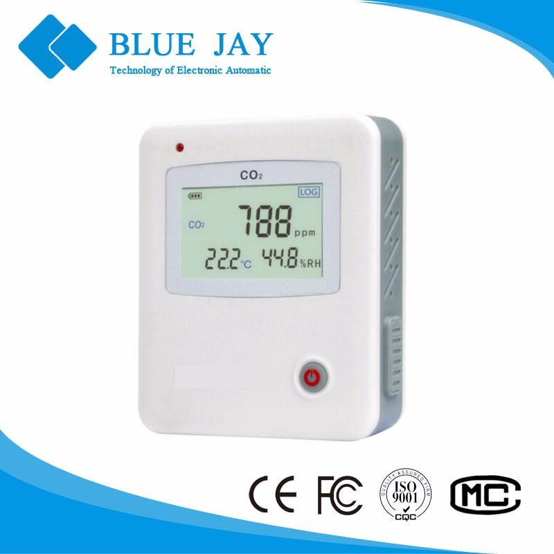 S653 5000PPM LCD Display CO2 Carbon Dioxide Humidity&Temperature Data Logger