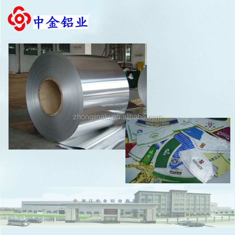 Aluminum Foil for bottle mark / bottle mark foil
