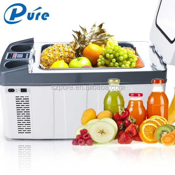 LED Dislay Control Home/Car Dual-use Camping Freezer Refrigerator Fridge Freezer 20L Capacity Fridge