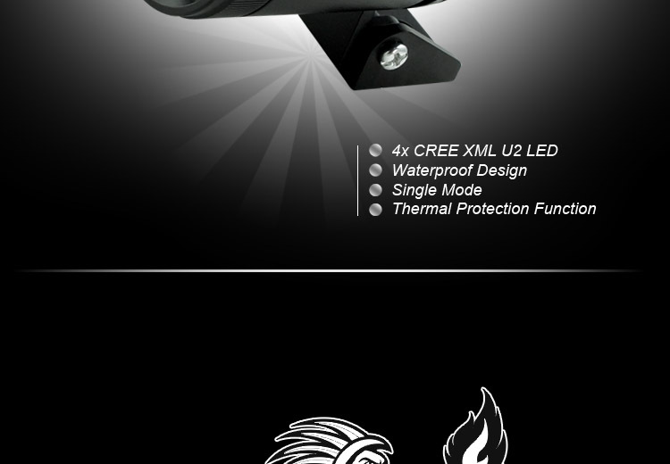 Goldrunhui RH-B0141 30w 2inch led flood light for car and motocycle
