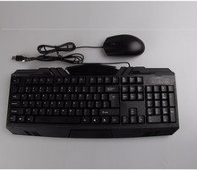 China Factory Ergonomic Combo Wired Gaming Gamer Keyboard&mouse/mice for Laptop Mac Tablet Desktop PC Computer