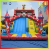 Custom giant dual lane inflatable slide