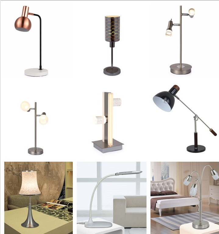 Alibaba hot sale wholesale table light unique table led lamps for living room decor