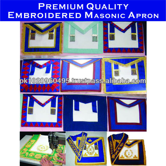Masonic Sash | Msonic Regalia Sashes | sash of degree hand embroidered