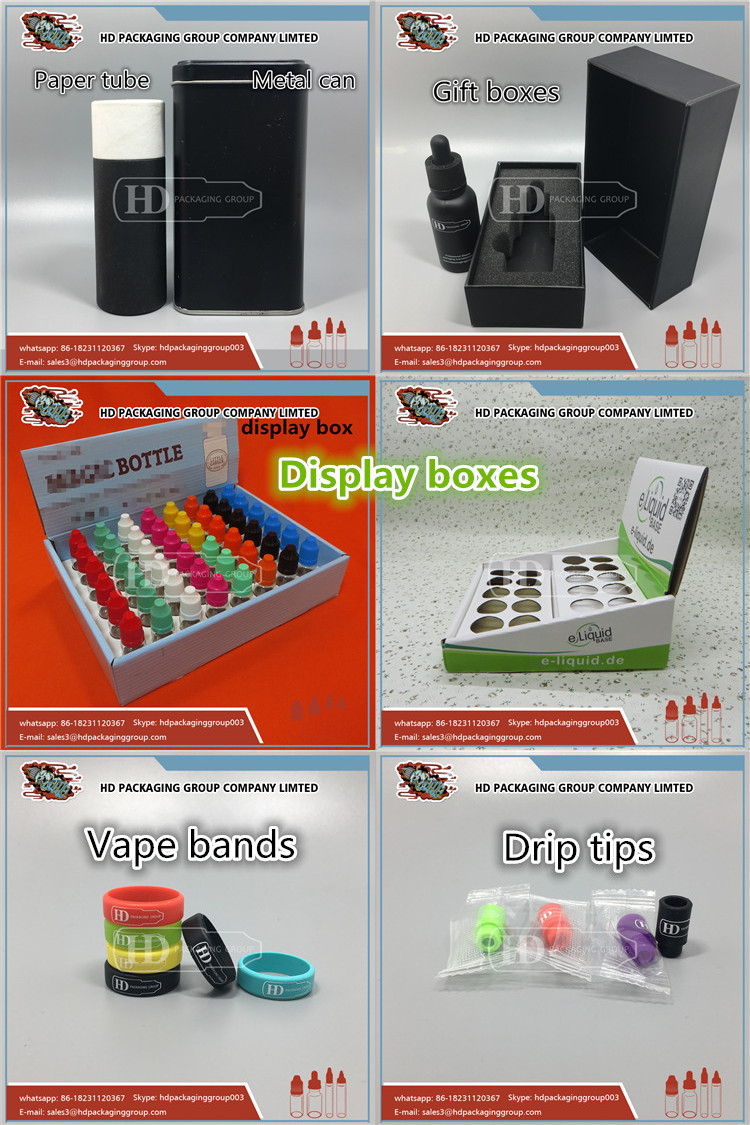 HD packaging boxes paper packing box for 30ml bottles packing boxes with paper