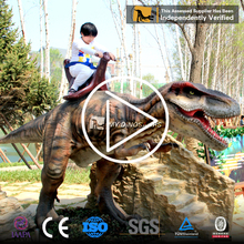 My-dino high quality animatronic electric walking dinosaur amusement rides