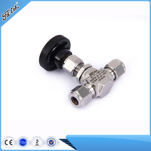 China manufacture Best-Selling 316stainless steel male/female needle valve