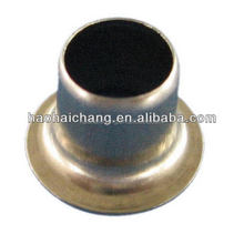 Cheap brass metal solid rivet caps For mini electric heater