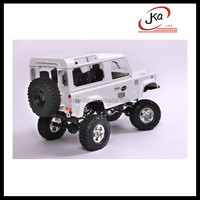 China Shenzhen Alibaba Full Metal Kit car Toys New Gelande II truck, land rover defender rc 90 chassis