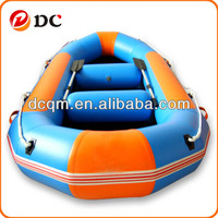 Inflatable Blue and Orange for Fishing Sports Boat