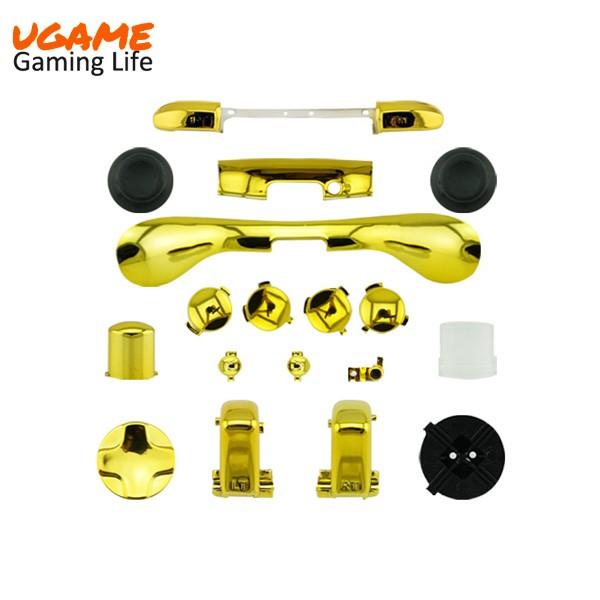 Complete Kits for Xbox 360 Controller Shell Gold