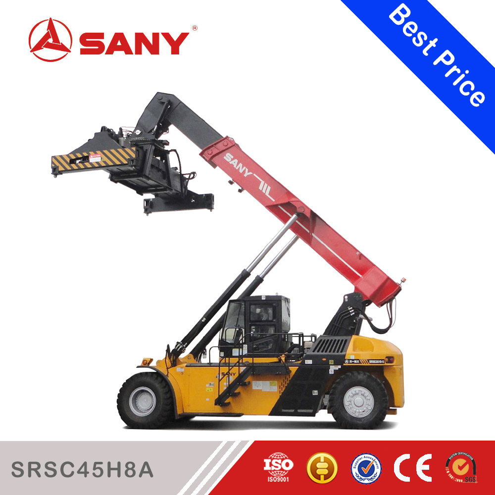SANY SRSC45H8A 45 Tons Hydraulic Energy-saving Machine Reach Stacker with Gost