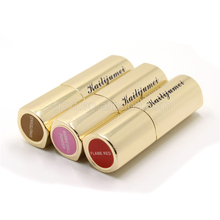 Best selling amazon <strong>cosmetic</strong> waterproof kiss proof gold case Kailijumei lipstick set