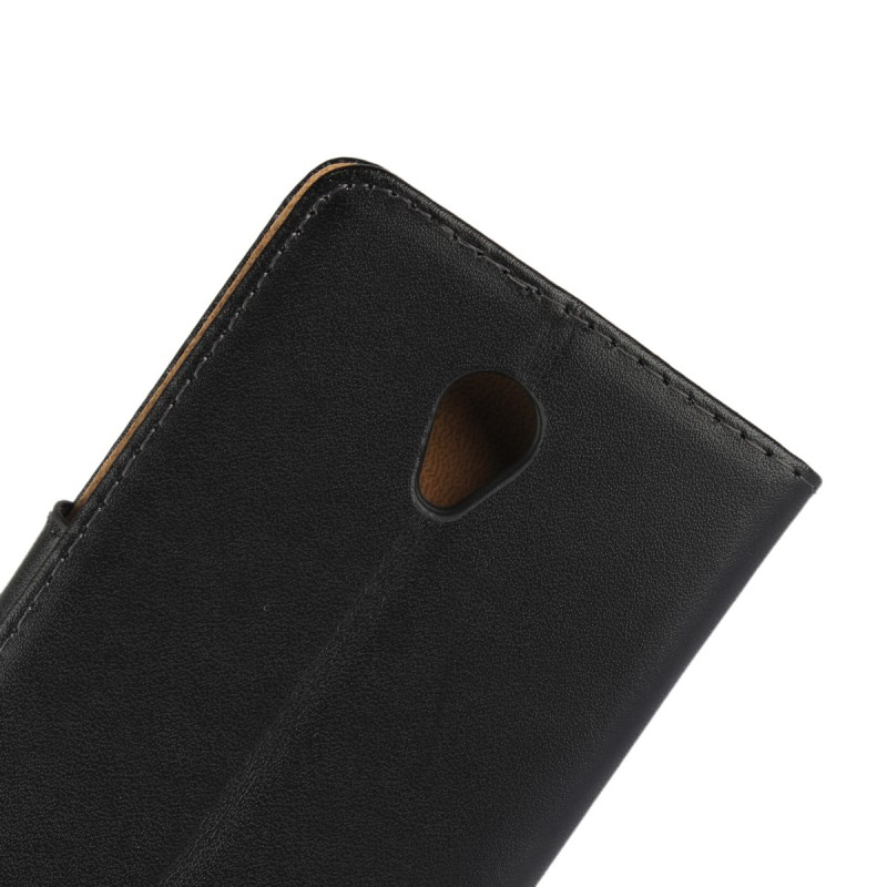 Phone Stand Wallet Coque Funda Flip Cover Regenerated Leather Case for Lenovo Vibe B Mobile Phone Accessory