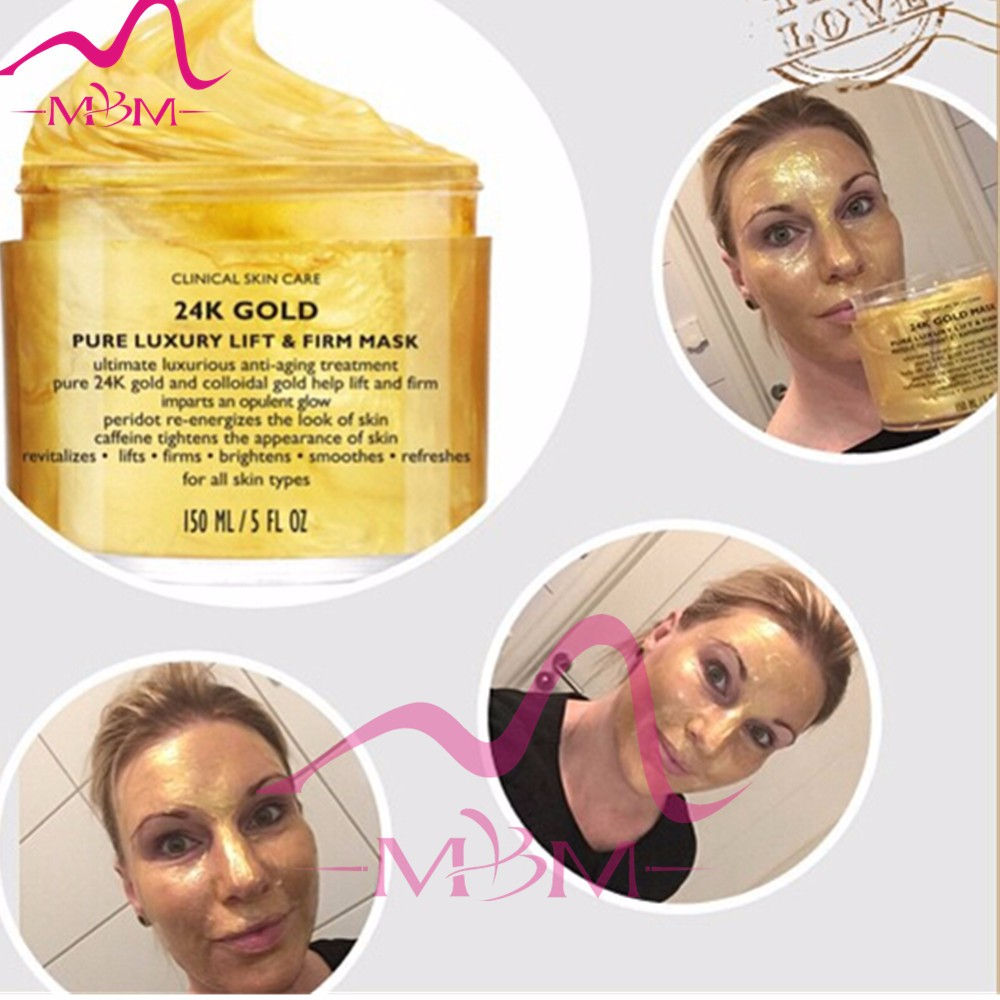 Zhengzhou Gree Well Miracle Gold Mask Cream Healthy Skin Care Combines Extracts and Colloidal